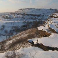 Над замёрзшим прудом, Перевальск