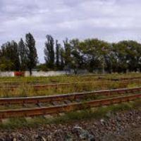 Панорама ж-д возле переезда с 10-ти фото, Рубежное