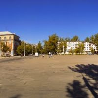 Панорама площадь с 10-ти фото, Рубежное