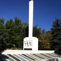Памятник воинам, Рубежное