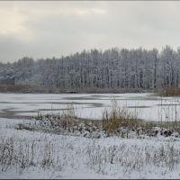 Лесное озеро, Рубежное