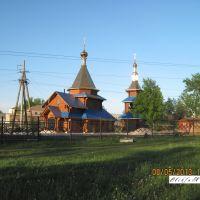 Церковь Св. Агапита Печерского с часовней 2013г., Свердловск