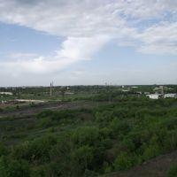 вид с террикона на северную часть Свердловска, Свердловск