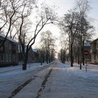 ул. Первомайская зимой, Северодонецк