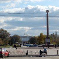 бабушка с семечками на пл. Победы, Северодонецк