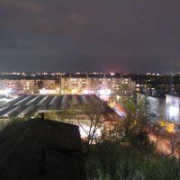 Ночной город. Рынок, Северодонецк