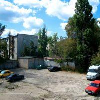 Parking lot in Severodonetsk, Северодонецк
