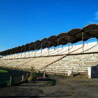 Old tribunes of Severodonetsk football stadium, Северодонецк