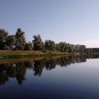 р. Северский Донец под г. Славяносербск, Славяносербск