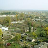Вид на Старобельск с элеватора, Старобельск