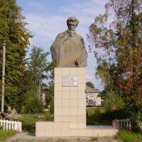 Памятник Чернышевскому, Старобельск