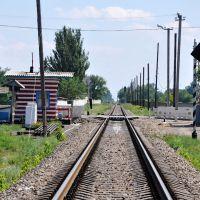 Железнодорожный переезд, Старобельск