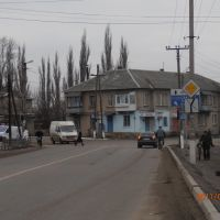 Розвилка біля автостанції, Старобельск