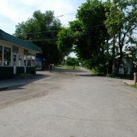Конечная станция трмвайных линий Стаханова, Стаханов