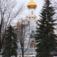 Строительство храма в центре, Стаханов