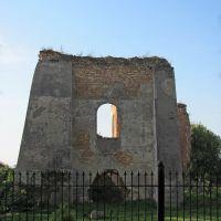 Руины кляштора отцов Доминиканцев-поражает величие..., Белз