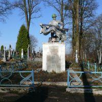 Памятник переможцям фашизму, Бобрка