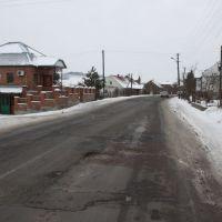 Ukrainian road. 24.12.2011, Бобрка