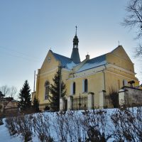 St Nicholas Latin Church, Бобрка