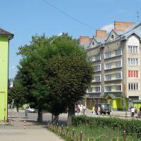 в центрі міста, Борислав