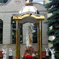 Святая Дева Мария в окружении Ангелов,на территории храма Святого Юра,17в. г. Броды., Броды