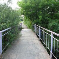 м.Буськ липень 2010р Міст над р.Західний Буг, Буск