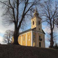 церква над дорогою * church over the road, Верхнее Синевидное