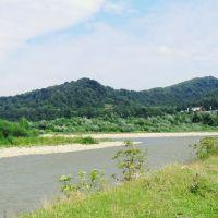 Гирло річки Опір, де вона впадає в ріку Стрий. (смт Верхнє Синьовидне Сколівського району), Верхнее Синевидное
