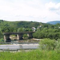 Nähe Siedlung Werchne Sinjowidne, Верхнее Синевидное