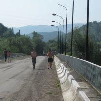На мосту, Верхнее Синевидное