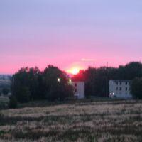 схід сонця, Винники