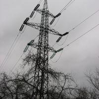Опора ЛЕП / Transmission tower, Винники