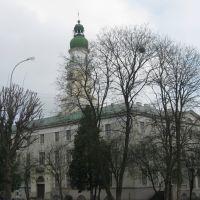 Дрогобич (Львівська обл.) - Міська ратуша , збудована в 20-х рр. ХХ ст. на місці старої - деревяної, Дрогобыч
