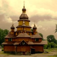 Church of the martyrs of Boris and Hlib. Zhydachiv. Lviv region., Жидачов