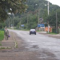 Жидачів, автовокзал, дорога в центр, Жидачов