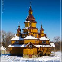 Деревяна церква, Жидачов