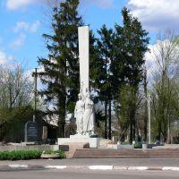 Память про визволителів Галицької землі від фашистів-окупантів, Жолкиев