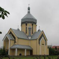 """Церква """"Зіслання Святого Духа"""", Жолкиев"""