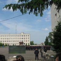 в/ч 3007, плац (май 2010), Золочев