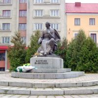 The Monument of Shashkevych, Золочев