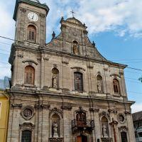 Вознесенский костел (сейчас - Успения Пресвятой Богородицы)  в Золочеве, Золочев
