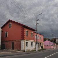Street in Yaniv, Ивано-Франково