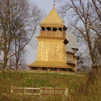 Вид на дзвiницю(Миколаiвська церква), Каменка-Бугская