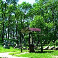 Героям Слава!!! 110 индивидуальных могил и одна братская всего 452человека 1944-1945гг., Каменка-Бугская