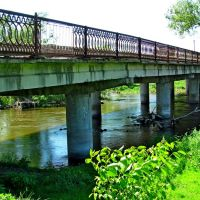 Мост через Западный Буг в Забужаны., Каменка-Бугская