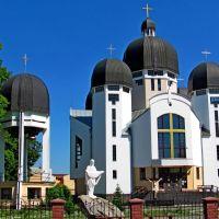 Греко-католический собор Преображения Господнего., Каменка-Бугская