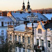 Ранкові покрівлі міста Лева / Morning roof Lion City, Львов