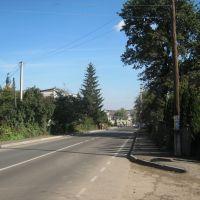 Вулиця Грушевського. м. Мостиська, Мостиска
