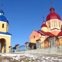Церква на горі, Мостиска