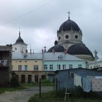 ŻÓŁKIEW (Жовква). Cerkiew klasztorna o.o. Bazylianów i swojskie klimaty., Нестеров